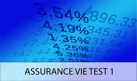 Assurance vie Test 1